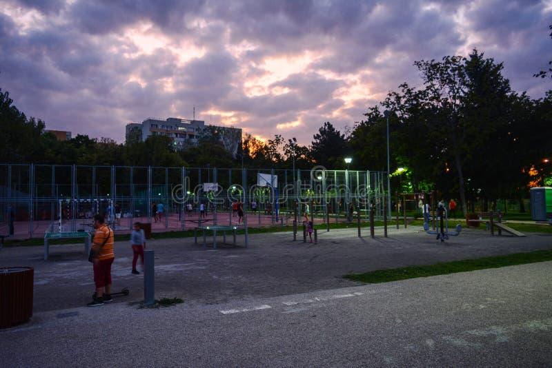 Парк Moghioros стоковое фото rf