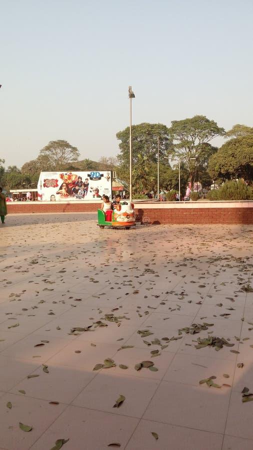 Парк Natinal уроженца Бангладеш для детей стоковые фотографии rf