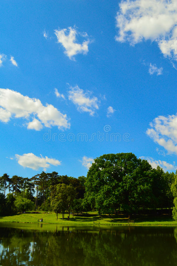 Парк Nicolae Romanescu стоковое фото