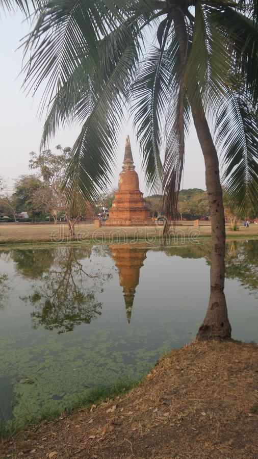 Парк Rama, Ayuthaya стоковое изображение
