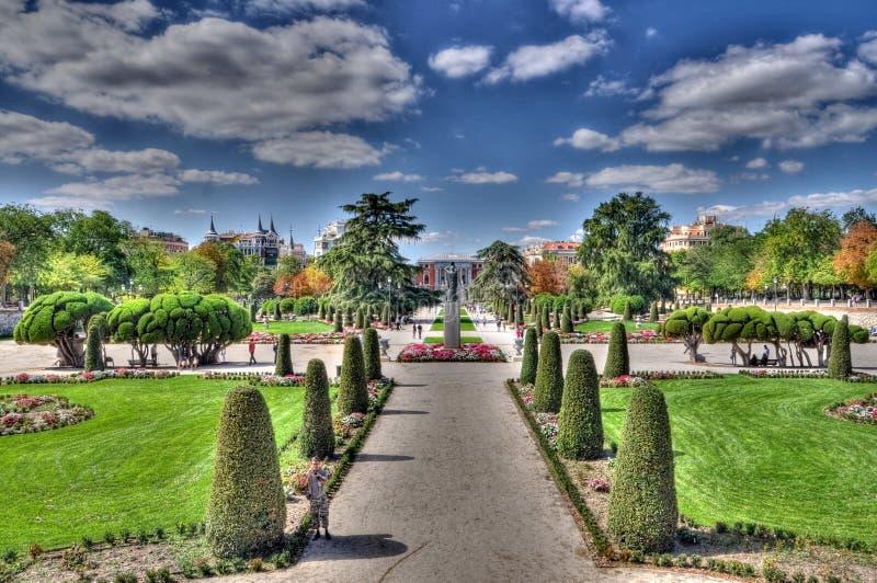 Парк Retiro, Мадрид, Испания стоковые фото