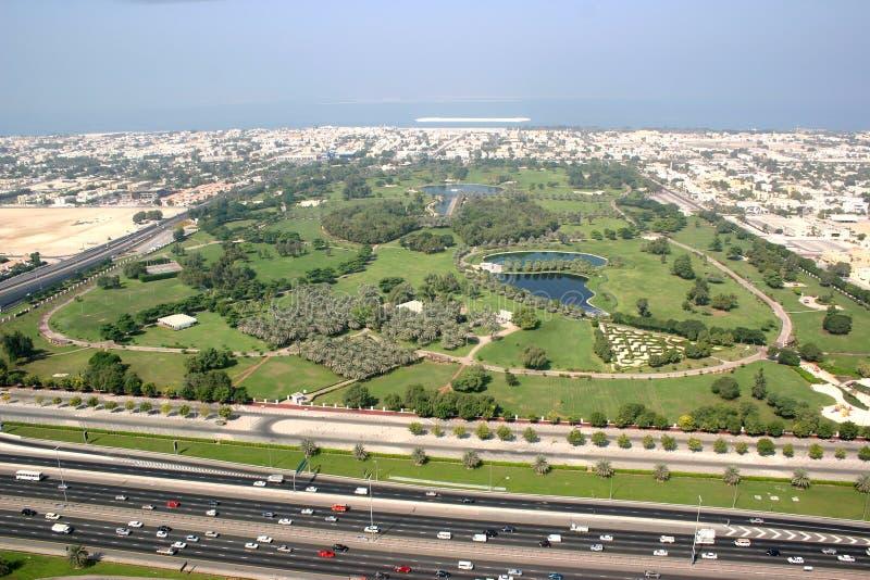 Парк Safa в Дубае стоковая фотография rf