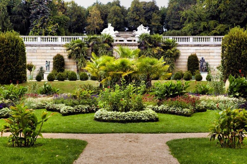 Парк Sanssouci в Потсдаме стоковые фотографии rf