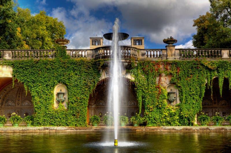 Парк Sanssouci в Потсдаме стоковые изображения rf