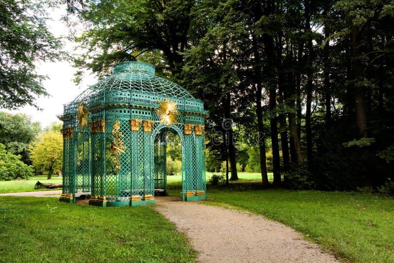 Парк Sanssouci в Потсдаме стоковая фотография rf