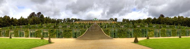 Парк Sanssouci в Потсдаме стоковая фотография