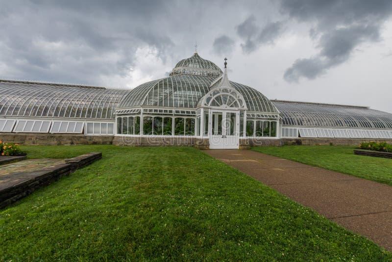 Парк Schenley рядом с государственным университетом Питтсбурга в Питтсбурге, стоковые фотографии rf