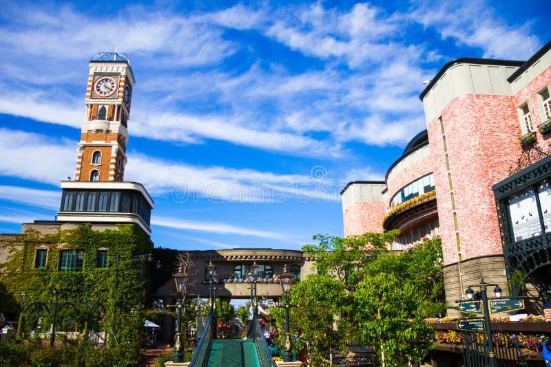 Парк Shiroi Koibito стоковые изображения rf