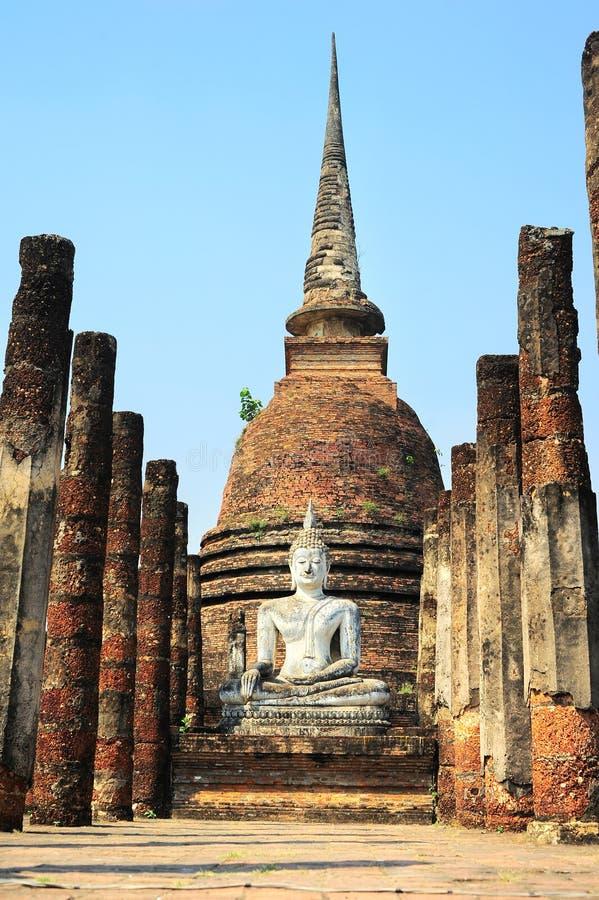 Парк Sukhotai исторический стоковые фото