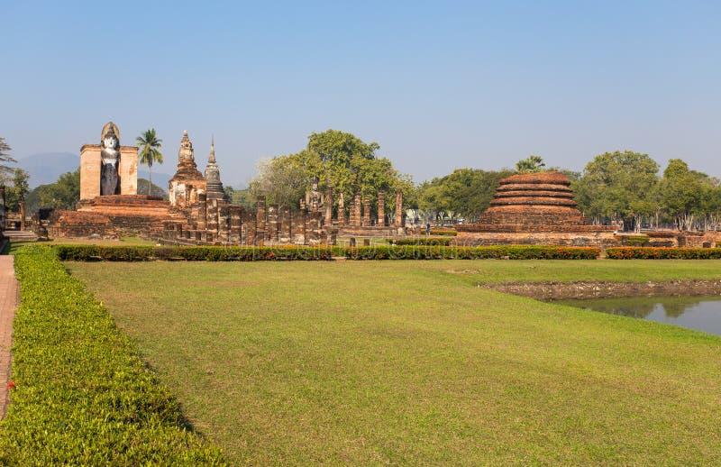 Парк Sukhothai исторический, Sukhothai, старый город, место всемирного наследия, ЮНЕСКО, Таиланд стоковое изображение
