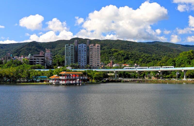 парк taipei dahu стоковые изображения rf