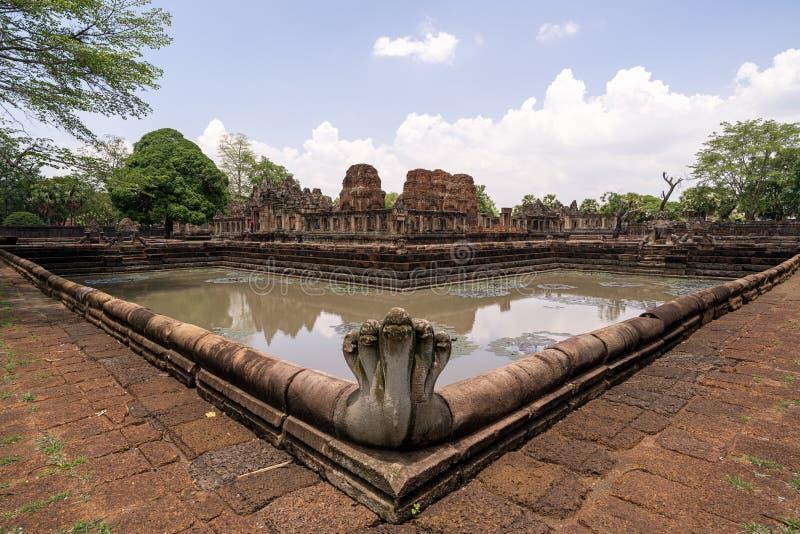 Парк tam muang Prasat исторический на провинции Таиланде buriram стоковое фото