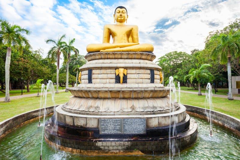 Парк Viharamahadevi в Коломбо стоковые изображения rf