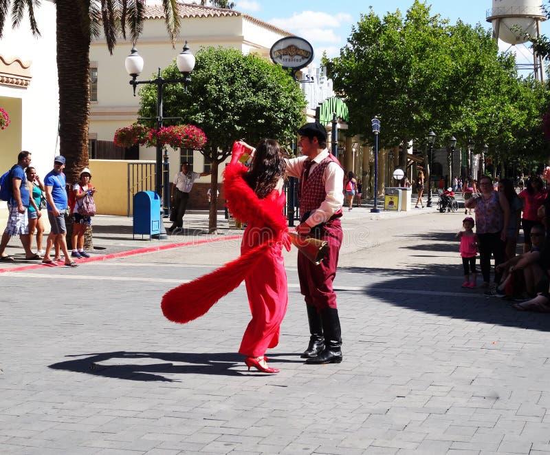 Парк Warner, Мадрид стоковые изображения