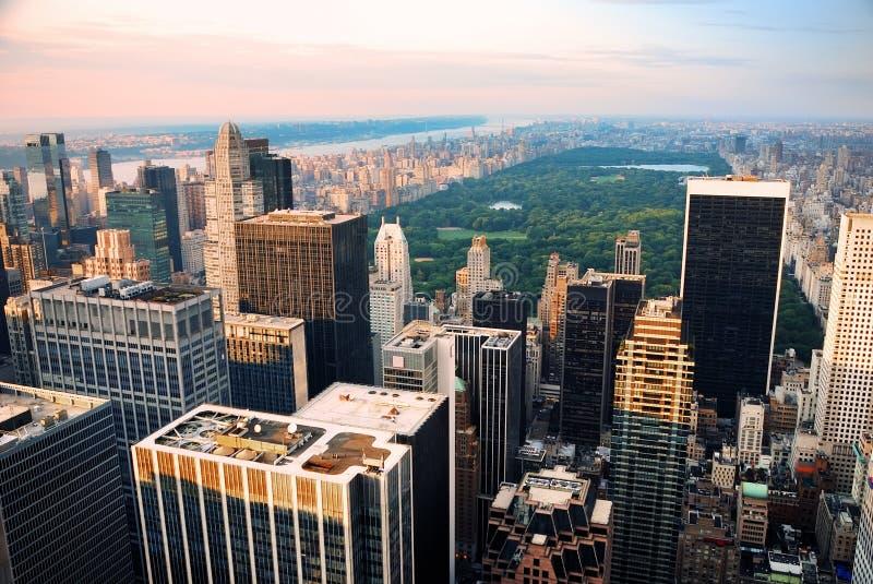 парк york главного города новый стоковые фото