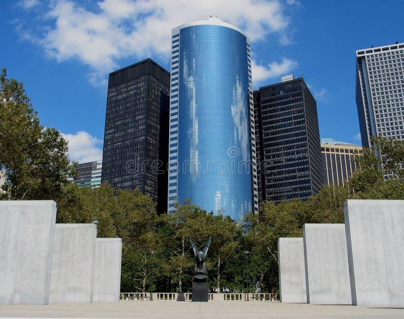 парк york города батареи новый стоковая фотография rf