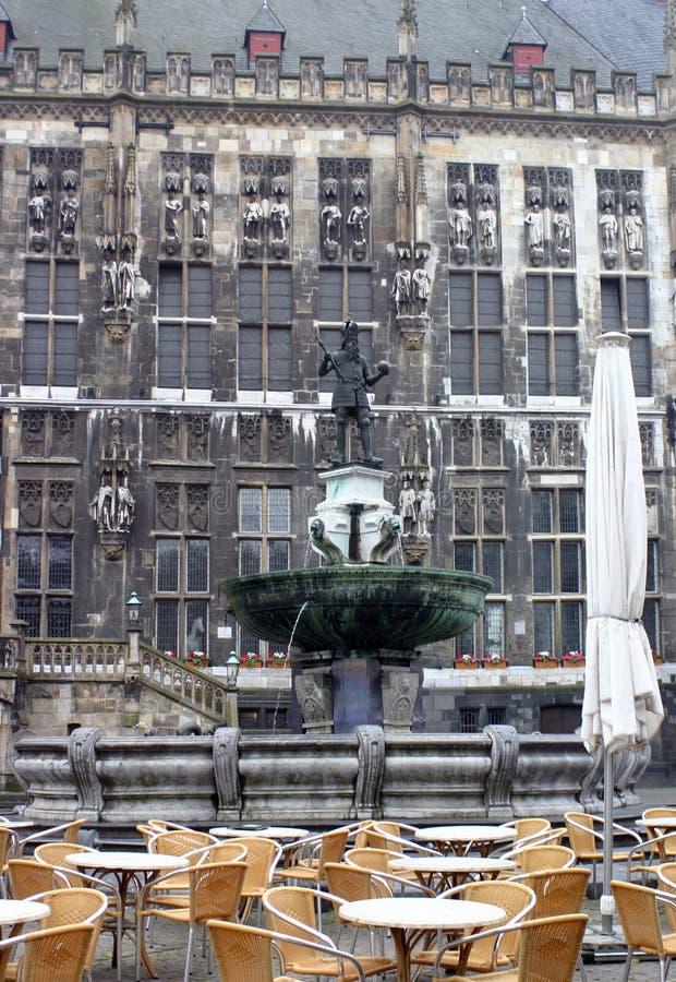 парламент Германии здания aachen стоковые изображения rf