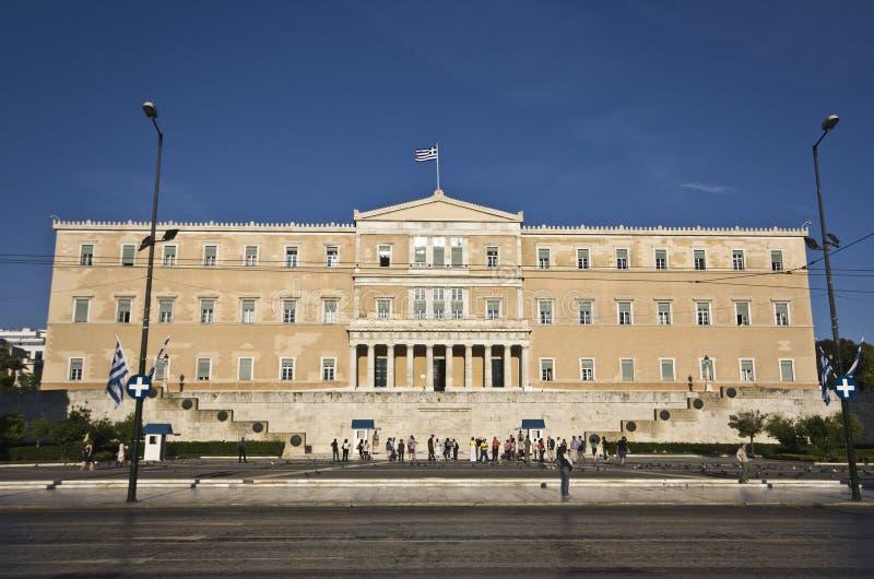 парламент грека города athens стоковые фотографии rf