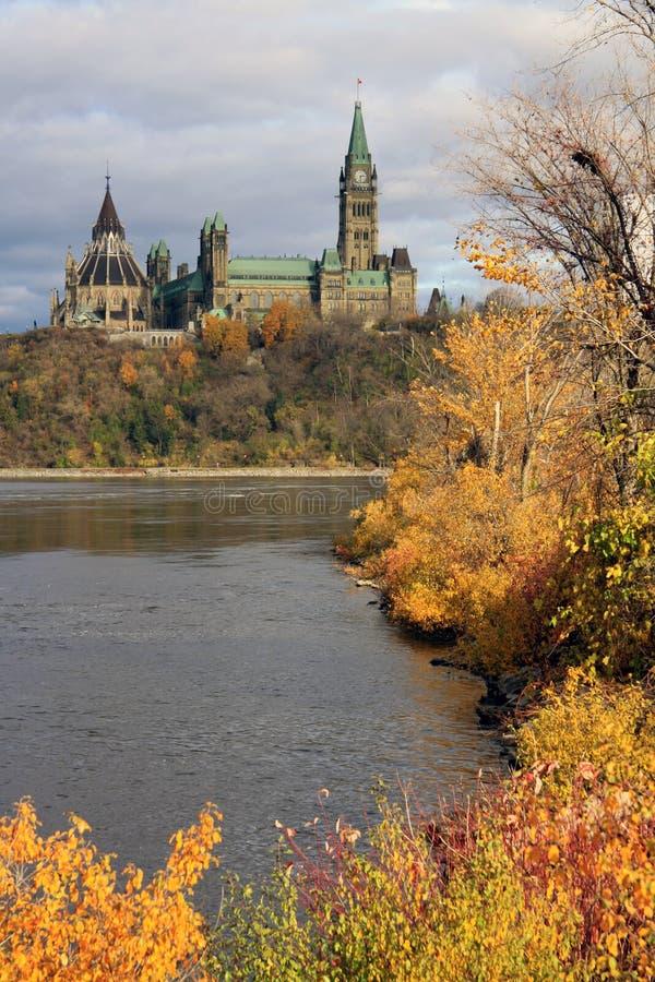 парламент Канады стоковая фотография rf