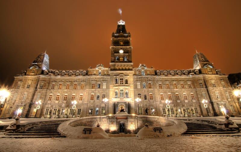 парламент Квебек стоковое фото rf