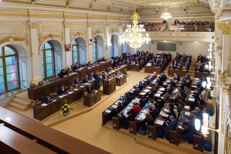Парламент чехии стоковые изображения rf