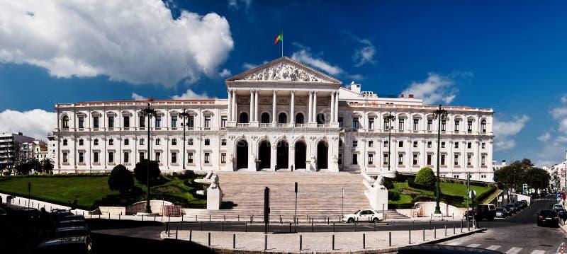 парламент lisbon стоковые изображения