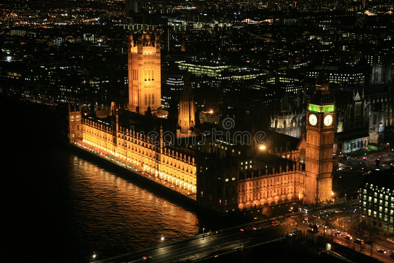 парламент london дома стоковая фотография rf