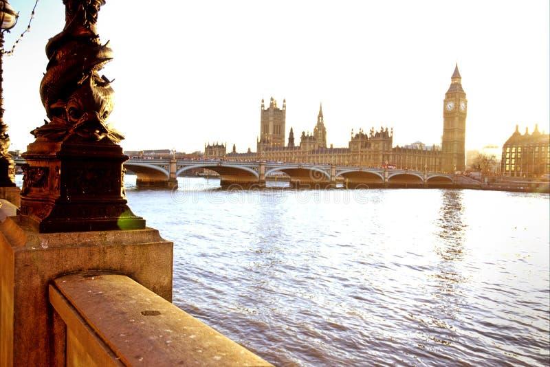 парламент london стоковая фотография rf