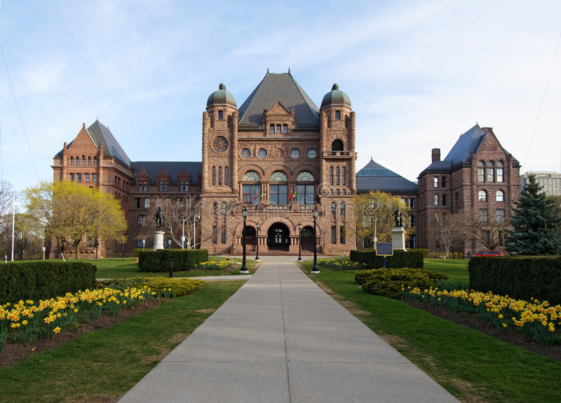 парламент ontario стоковые фото