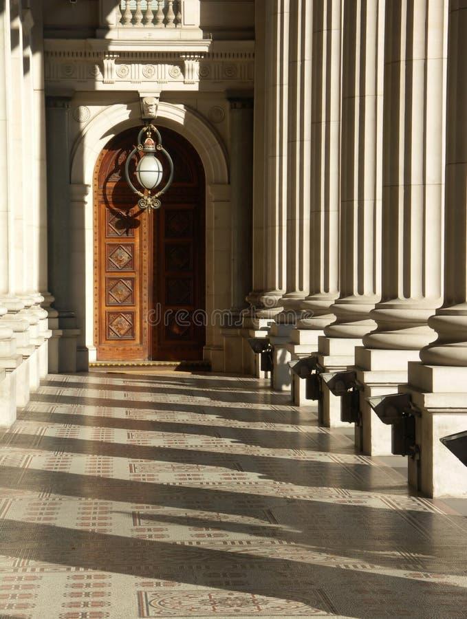 парламент victoria зданий стоковые фото