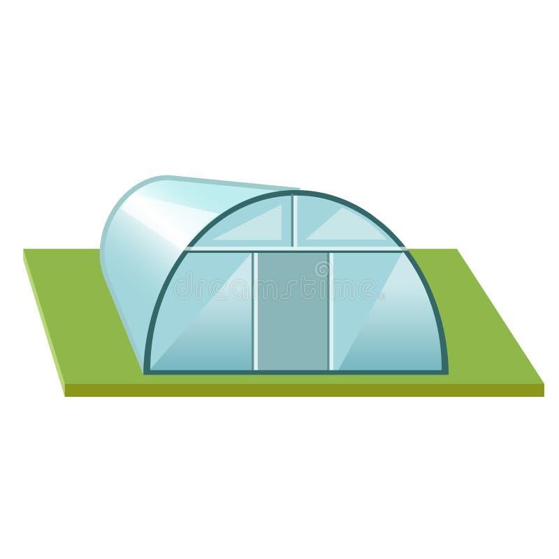 Парник с поликарбонатом бесплатная иллюстрация