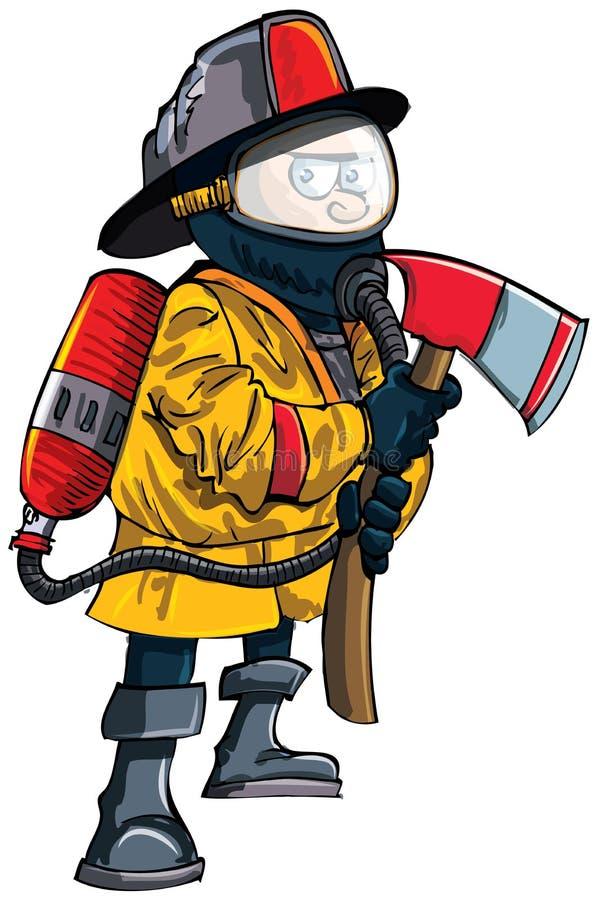 Для папы, пожарник смешная картинка