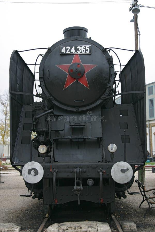 паровоз cccp стоковая фотография rf