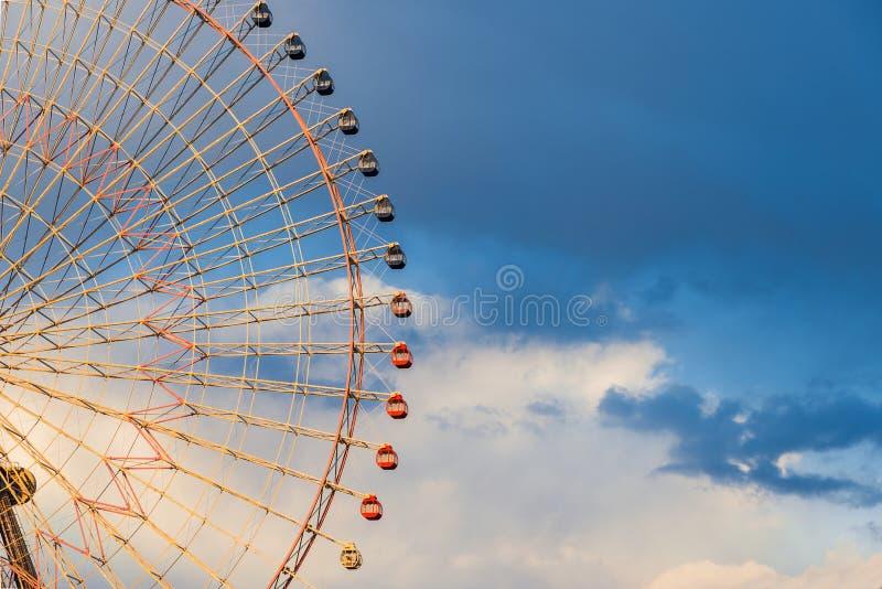 Паромы часов 21 Cosmo катят внутри Иокогама стоковое изображение rf