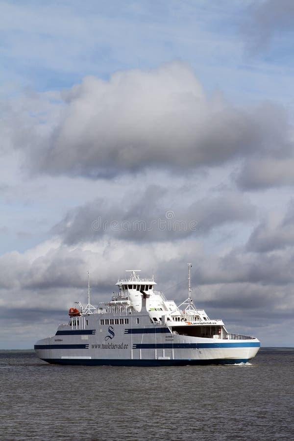 Паром Saaremaa стоковая фотография rf