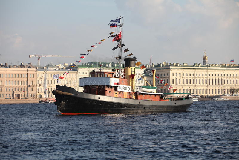пароход стоковое фото