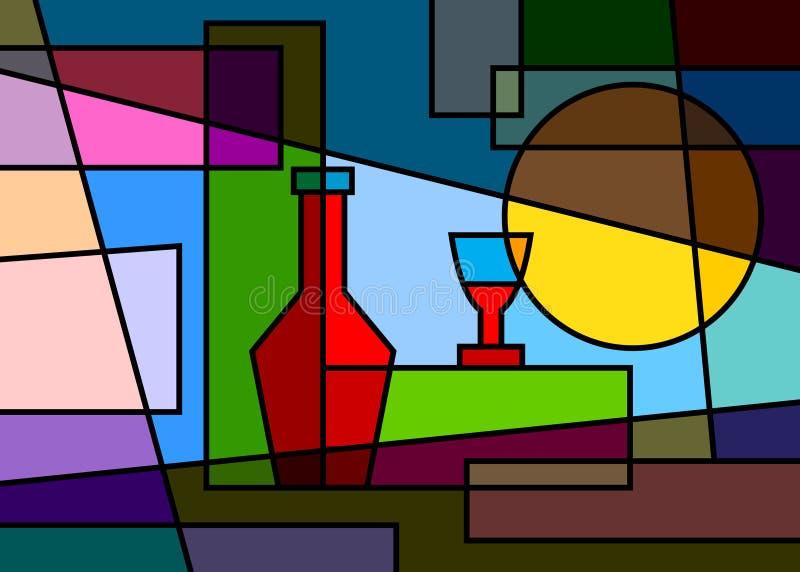 Партия абстракции иллюстрация штока