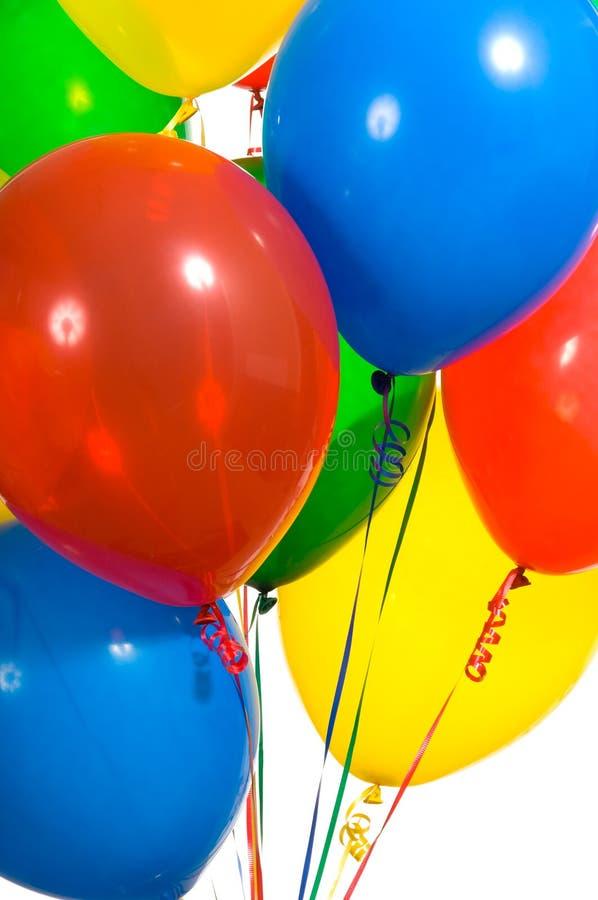 партия воздушных шаров стоковые фотографии rf