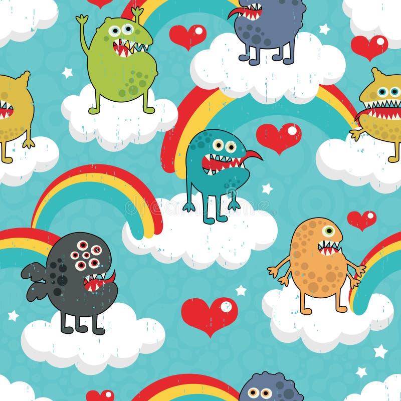 Партия изверга радуги. иллюстрация вектора