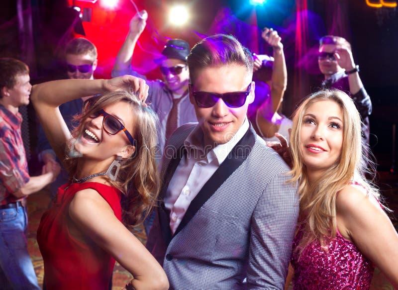 Партия на ночном клубе стоковые изображения rf