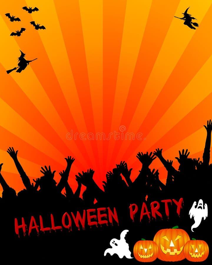 партия приглашения halloween бесплатная иллюстрация
