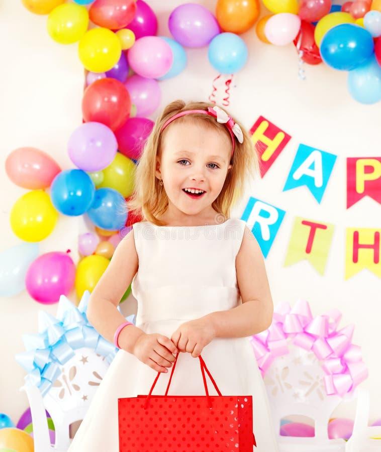 партия ребенка дня рождения стоковые изображения