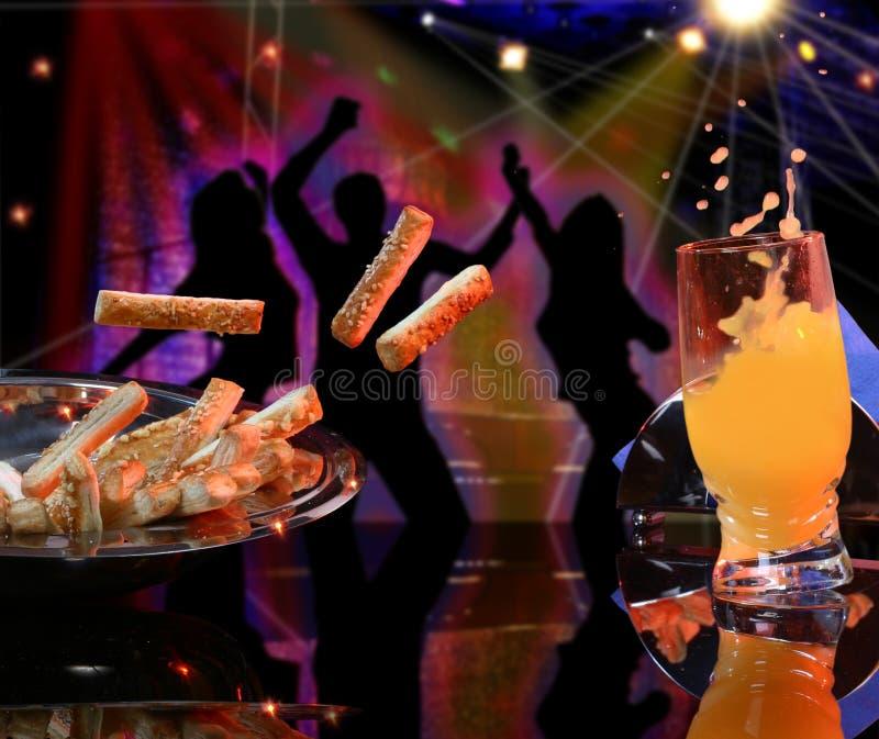 партия танцульки стоковое изображение