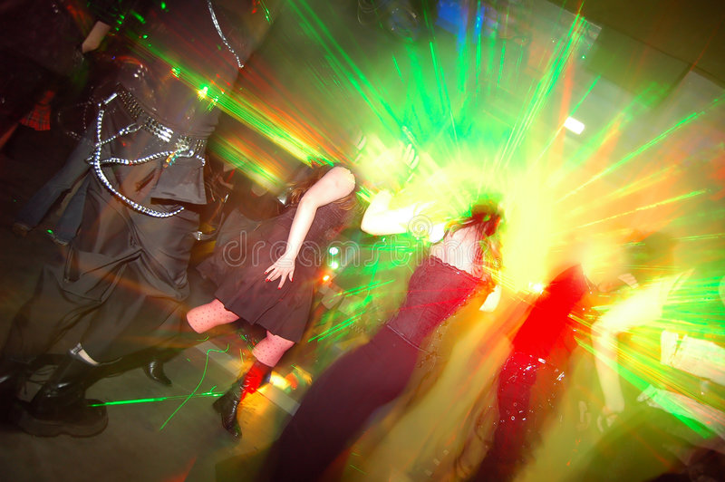 партия танцульки стоковые изображения