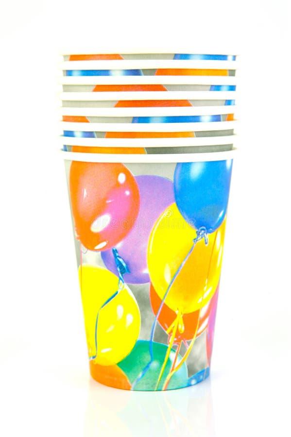 партия чашек стоковая фотография rf