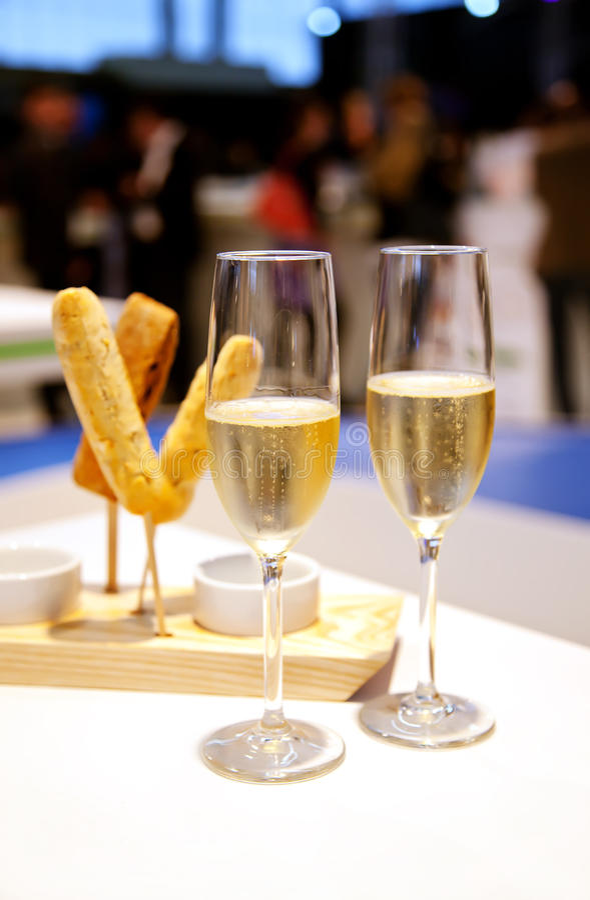 партия шампанского стоковое фото rf
