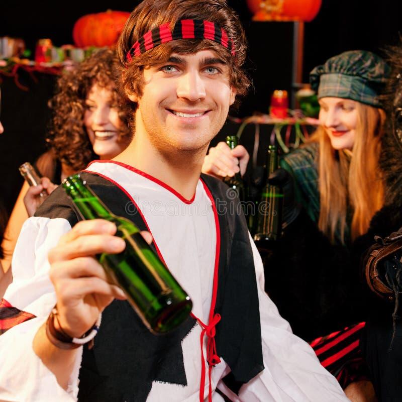 партия halloween масленицы стоковая фотография rf