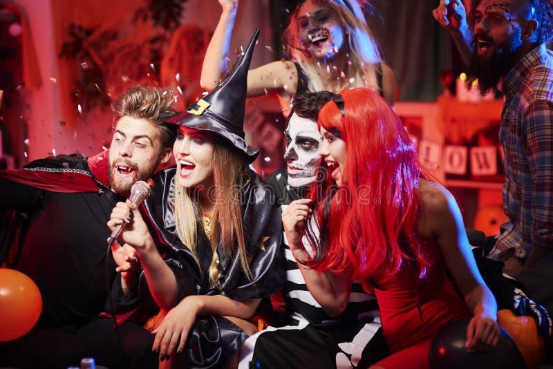Партия Halloween стоковое фото rf