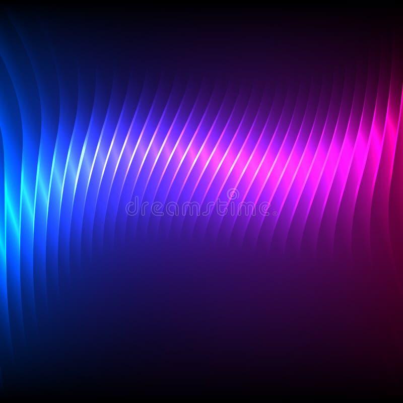 Парти-рогульк-предпосылк-ярк-голуб-фиолетовый иллюстрация штока