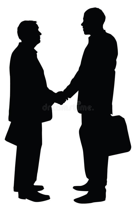 партнерство дела иллюстрация штока
